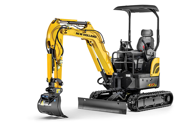 New Holland Construction E17C Compact Excavator