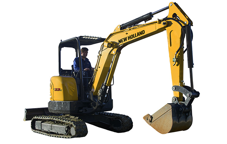 New Holland Construction E33C Compact Excavator