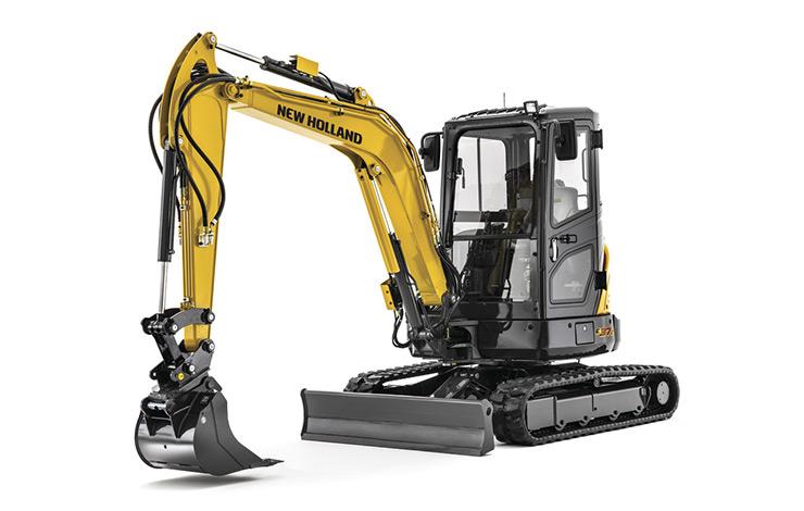 New Holland Construction E37C Compact Excavator