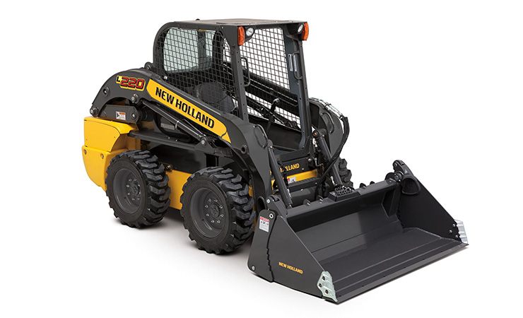 New Holland L220 Skid Steer Loader