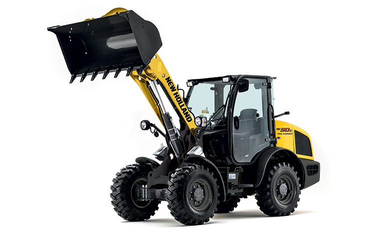 New Holland W50C Compact Wheeled Loader