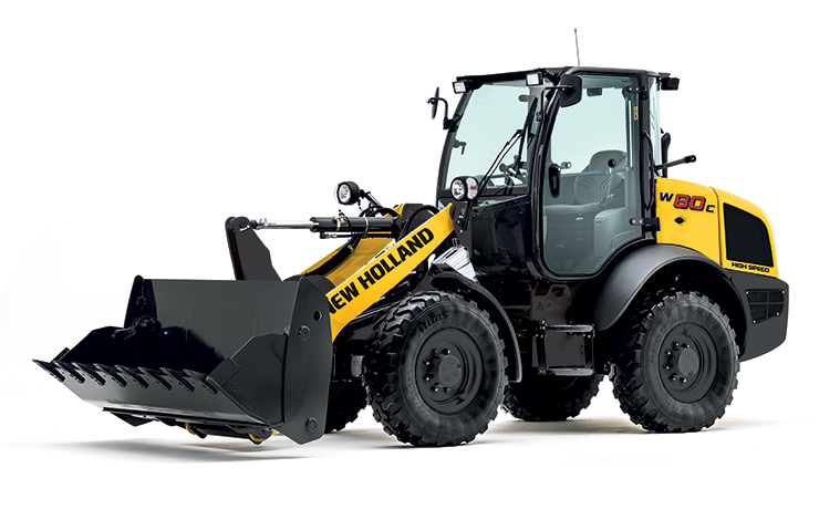 New Holland W80C Compact Wheeled Loader